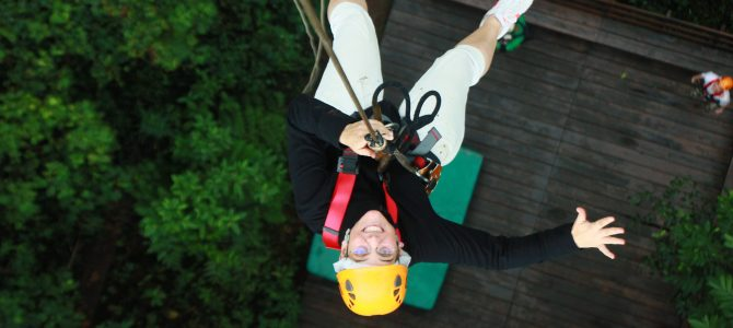 Flight of the mighty – das Ziplining Abenteuer