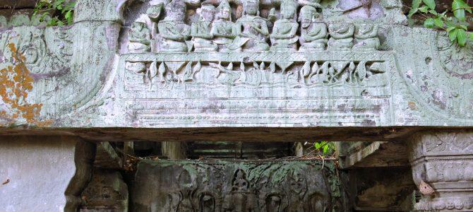 Angkor Wat die 2., Indiana Jones & grüne Feierlaune (Siem Reap Teil 2)
